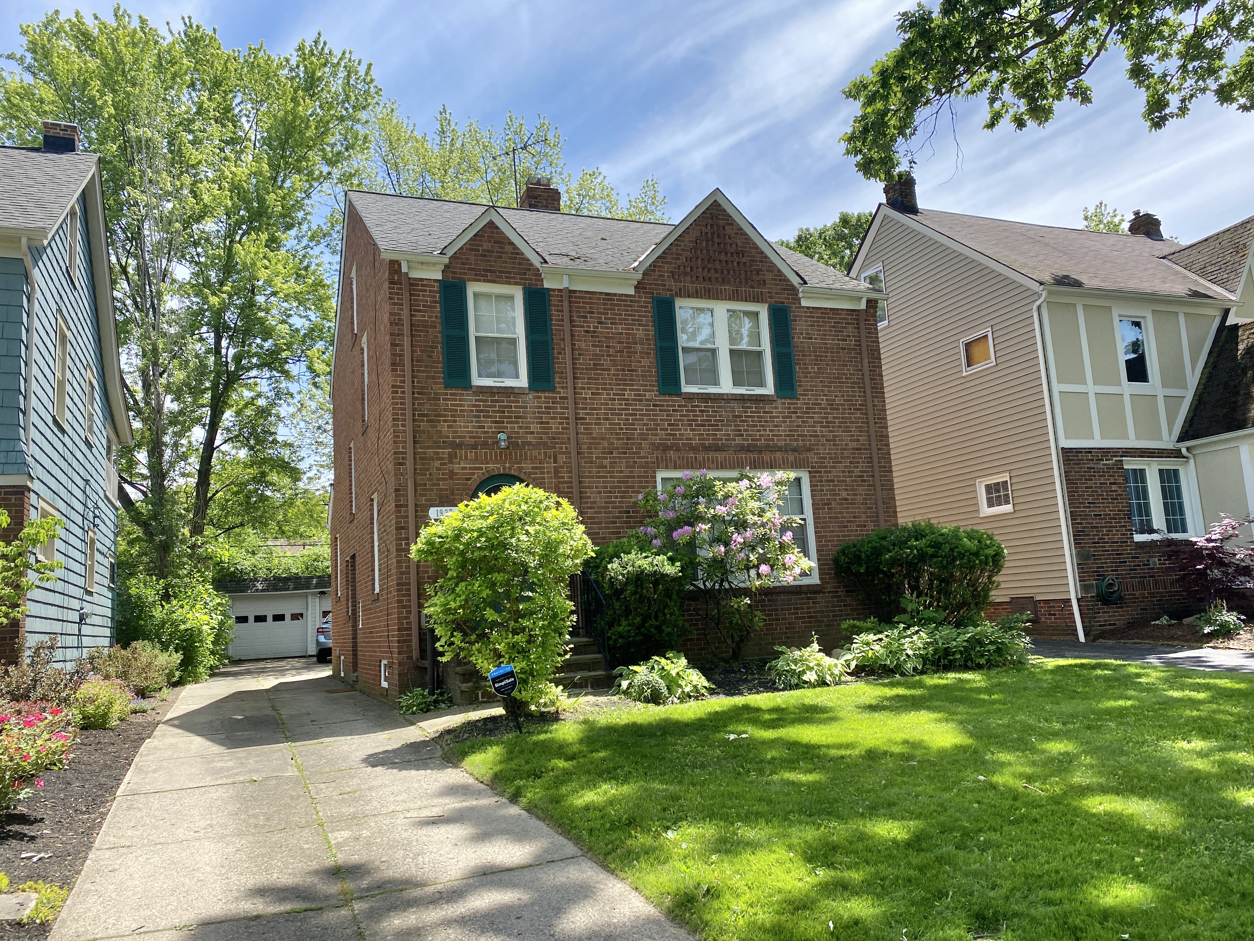 Cleveland Heights Rental Home – Staunton Colonial